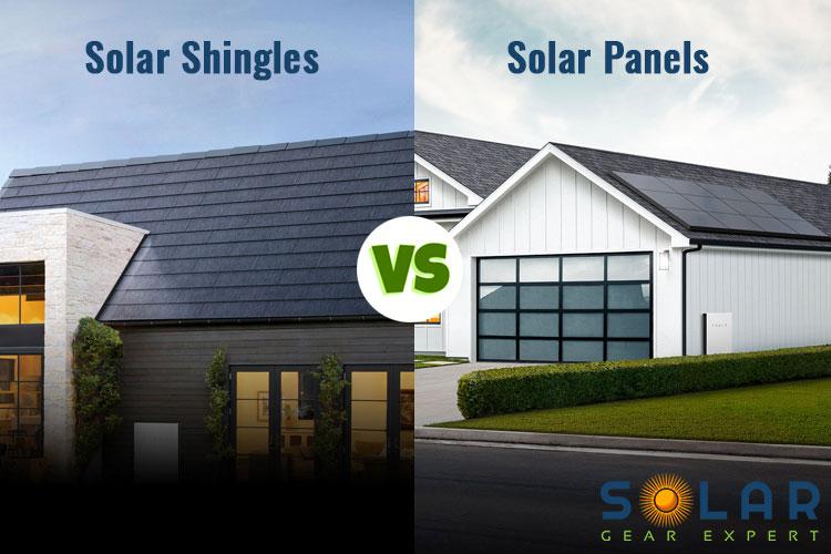 Solar Shingles vs Solar Panels