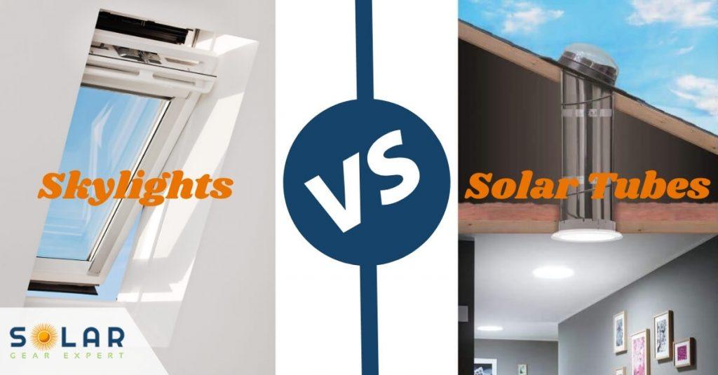 Skylights vs Solar Tubes