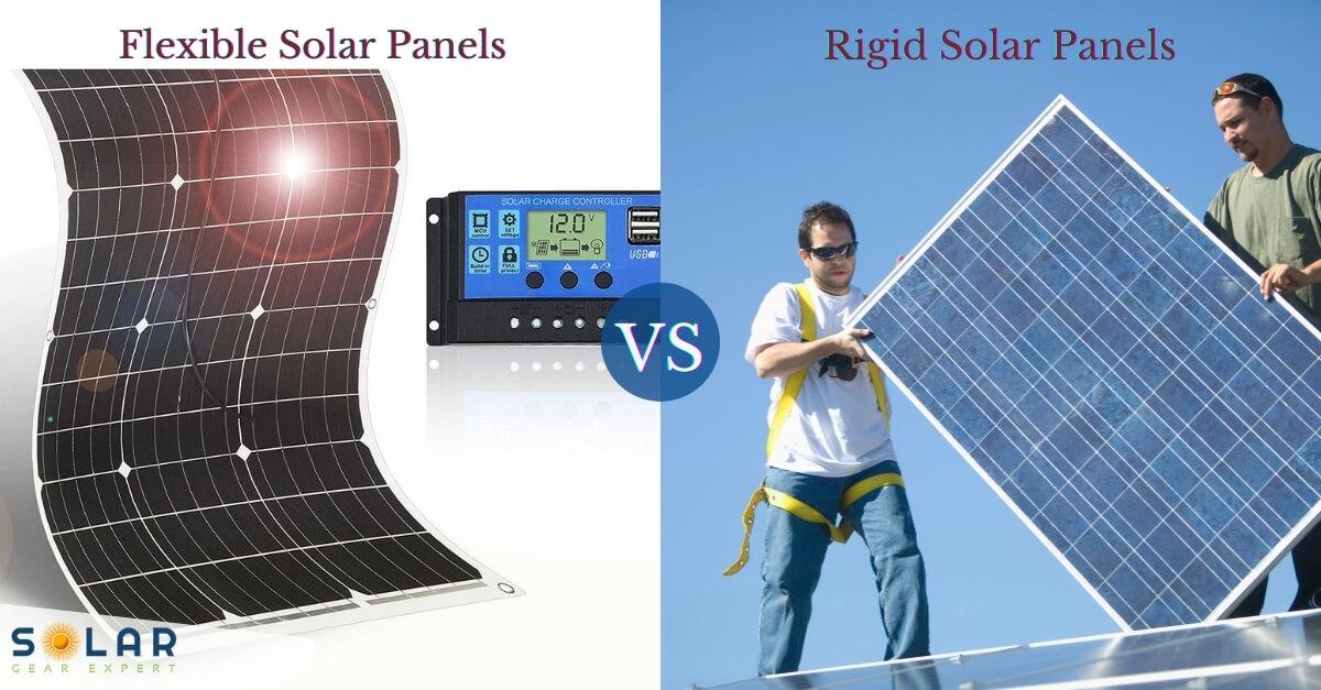 Flexible Solar Panels vs Rigid
