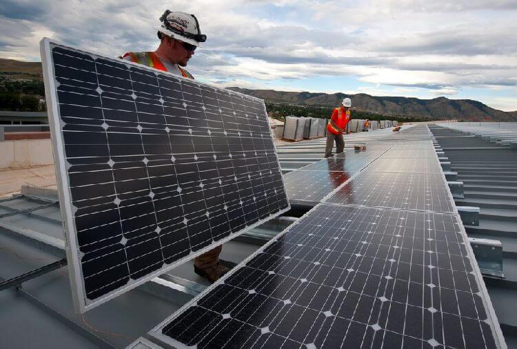 Traditional Solar Panels